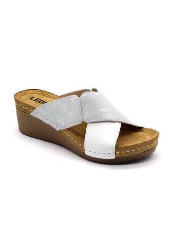Leon 1008A Dámska zdravotná obuv - Klinový opätok
