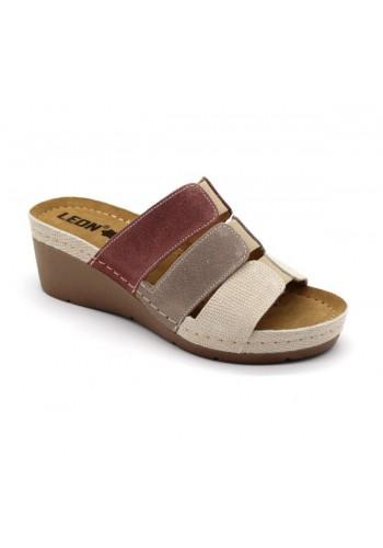 Leon 1009 Dámska zdravotná obuv - Klinový opätok