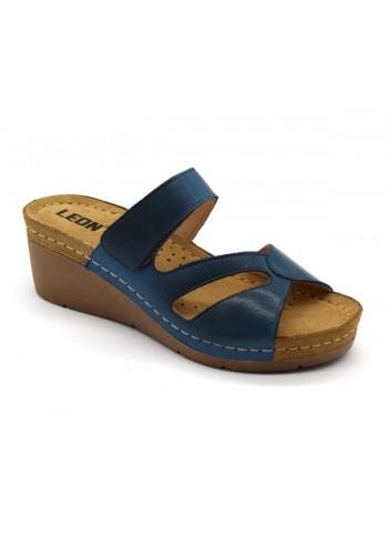 Leon 1055A Dámska zdravotná obuv - Klinový opätok
