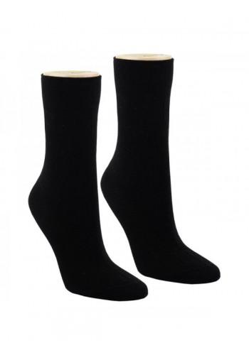 12719 - Dámske 100 %  bavlnené ponožky-4páry/bal.