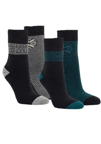 "12792 - Dámske extra termo ponožky ""SCHWARZ"" - 2 páry/bal."