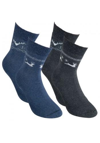 """12796- Dámske thermo ponožky """"WINTER"""" - 2 páry/bal."""