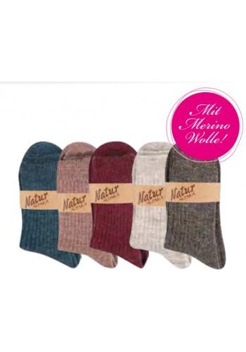 "13350- Dámske vlnené ponožky ""ALPAKA ""- 2 páry/bal."