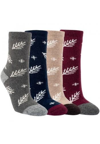 """13401 - Dámske vlnené ponožky """"TANNEZWEIG""""- 2 páry/bal."""