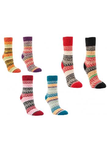 """13402 - Dámske vlnené ponožky """"FARBRAUSCH""""- 2 páry/bal."""