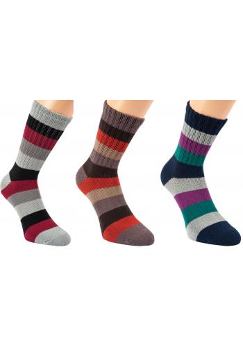 """13857 - Dámske bambusové ponožky """"WINTER BAMBUS""""- 2 páry/bal."""
