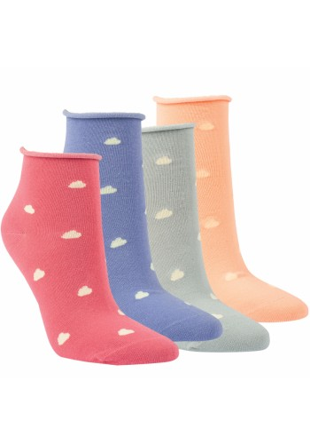 "15248 - Dámske členkové ponožky ""ROLLRAND - WOLKE"" - 3 páry/bal."