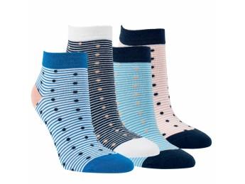 """15249 - Dámske členkové ponožky """"PÜNKTCHEN"""" - 3 páry/bal."""