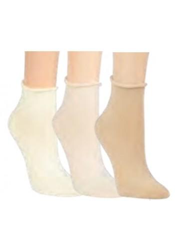 """15266- RS Dámske kotníkové ponožky """"ROLLRAND""""-3páry/bal."""