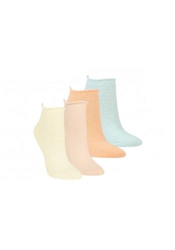 """15295-RS Dámske kotníkové ponožky ,,LUREX"""" - 3 páry/bal."""