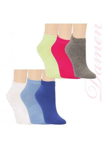 """15297- RS Dámske kotníkové ponožky ,,UNI"""" - 3 páry/bal."""