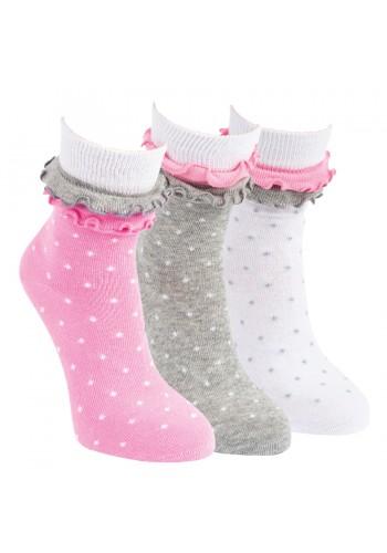"""20823-Detské bavlnené ponožky ,,RÜSCHE""""-2 páry/bal."""