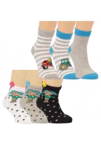 "21148- Detské skrátené ponožky  ""GIRL"""