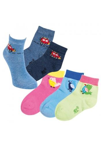 "21151- Detské skrátené ponožky ""VOGEL & CAR"""