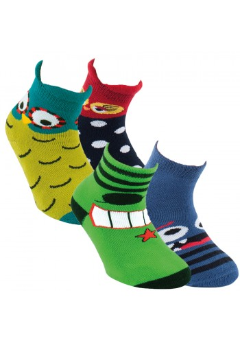 "22124- Detské protišmikové ponožky ""GUMMI SOHLE"""