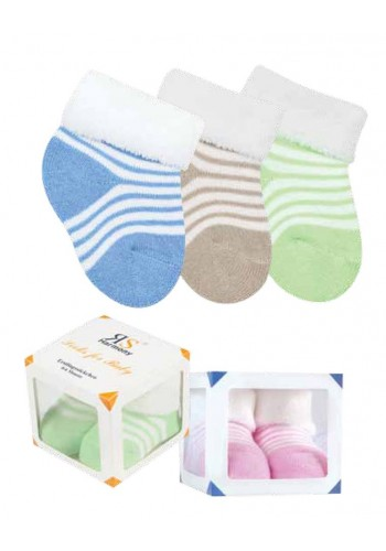 24590 - Dojčenské froté ponožky