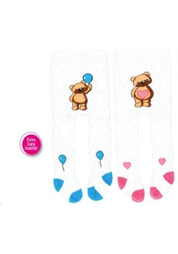 """26022- Baby vzorované pančuchové nohavice """"BOY & GIRL"""""""