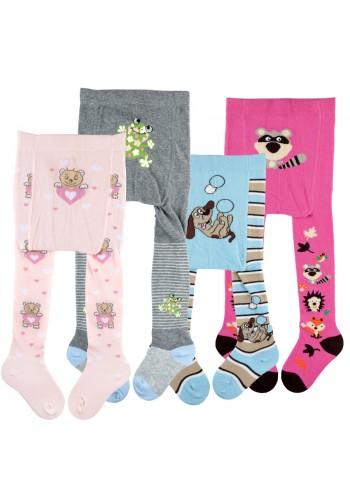 "26037-Dojčenské pančuchové nohavice ""BOY & GIRL"""