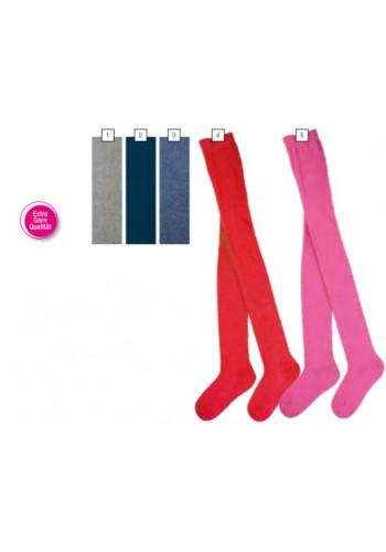 """28025- Detské jednofarebné pančuchové nohavice """"UNI"""""""