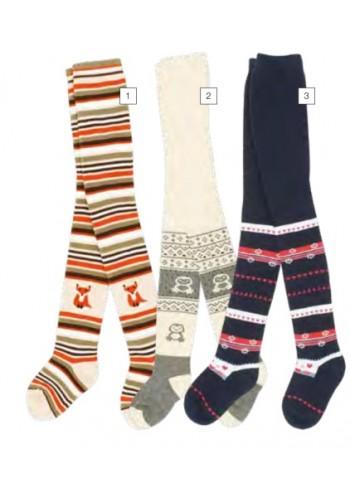 """28077- Detské froté vzorované pančuchové nohavice """"BOY & GIRL"""""""