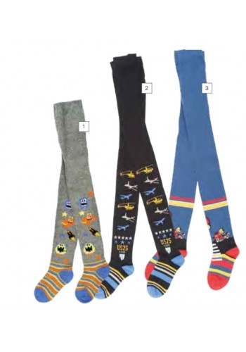 """28091- Detské vzorované pančuchové nohavice """"BOY"""""""