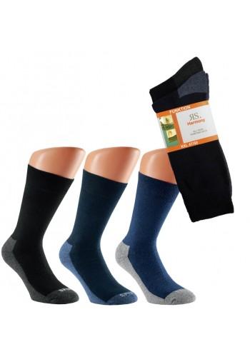 31032- Pánske nadmerné ponožky s froté chodidlom XL- 2páry/bal.