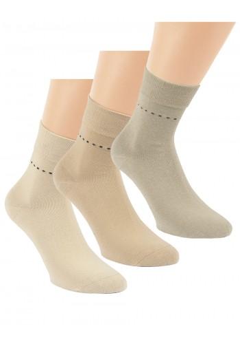 """32047 - Pánske zdravotné, skrátené ponožky """"SAHARA"""" - 3 páry/bal."""
