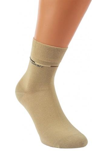 """32052 - Pánske bavlnené skrátené ponožky """"NATUR"""" - 3 páry/bal."""