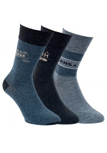 32157 - Pánske bavlnené ponožky - 3páry/bal.
