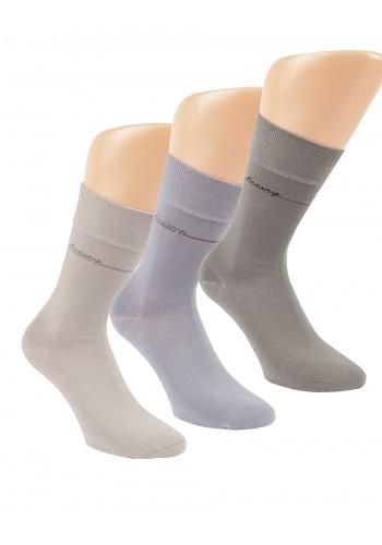 """32162 - Pánske bavlnené, zdravotné ponožky """"LUXURY"""" - 3 páry/bal."""