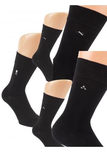 """32169 - Pánske bavlnené, zdravotné ponožky """"HIGH CLASS DESIGN"""" - 3 páry/bal."""