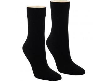 """32525- Pánske 100% bavlnené ponožky """"SCHWARZ"""" - 4 páry/bal."""