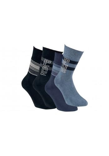 """32772- Pánske froté teplé ponožky """"DESIGN"""" - 2 páry/bal."""