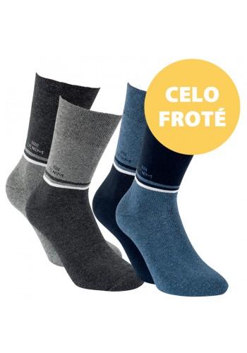 """32773 - Pánske termo ponožky """"DENIM"""" - 2 páry/bal."""