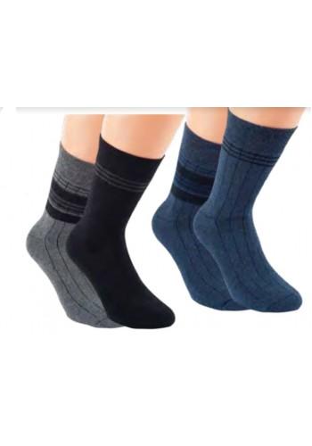 """32774-Pánske termo ponožky """"BLACK & JEANS"""" - 2 páry/bal."""