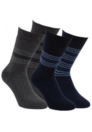 """32779 - Pánske bavlnené extra termo ponožky """"GENTLEMAN"""" - 2 páry/bal."""