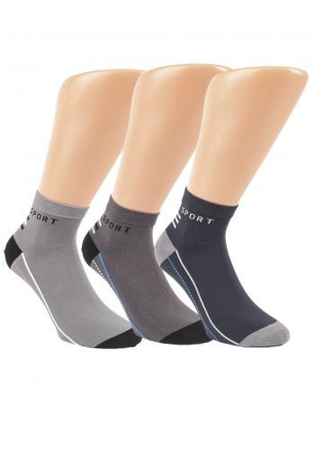 """35182 - Pánske členkové ponožky """"SPORT""""- 3 páry/bal."""