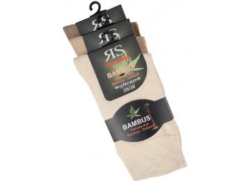 """43042- Bambusové ponožky SORBTEK technológiou """"BAMBUS"""" - 3 páry/bal."""