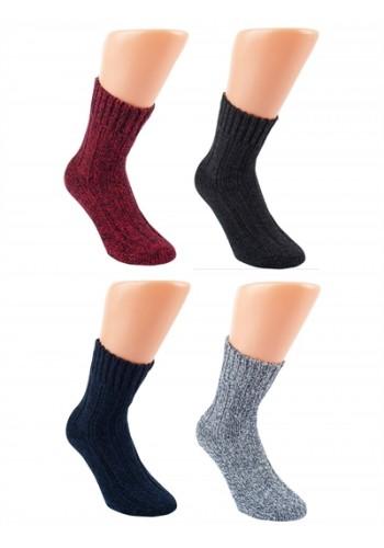 """43347 - Vlnené unisex ponožky """"SOFT & WARM"""" - 2 páry/bal."""