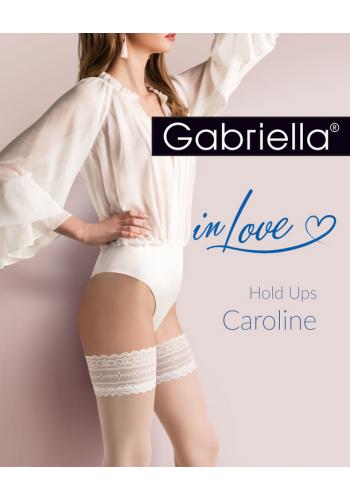 Calze Caroline 20den - samodržky