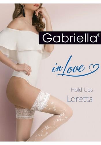 Calze Loretta 20den - samodržky