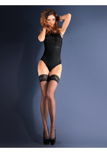 Calze Classic Erotica 15den, 9cm čipkou