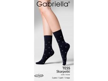 Tess bodkované lurex ponožky 60den