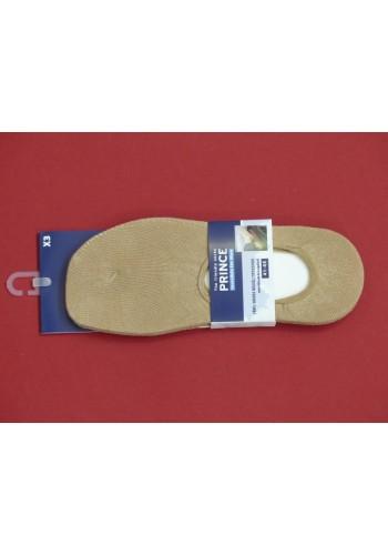 PRINCE Pánske balerína ponožky -3páry/bal.