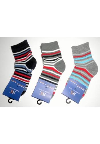 """20854- A -Detské prúžkované ponožky """"RINGEL"""""""