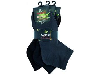 """43018- Bambusové kotníkové ponožky SORBTEK """"BAMBUS"""" - 3 páry/bal."""