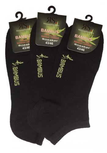 """43024- Bambusové ťapky Sorbtek """"BAMBUS"""" - 3 páry/bal."""