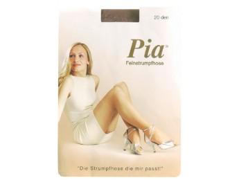 10202- Dámske silónové pančuchové nohavice PIA, 20 DEN - 1 balenie