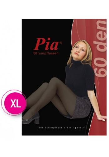 10367- Dámske silónové pančuchové nohavice PIA, 60 DEN XL - 1 balenie