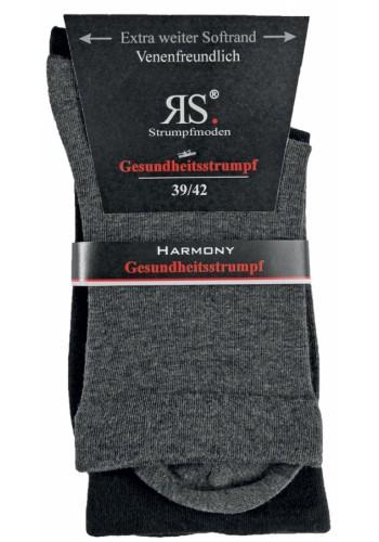 """11120- Dámske zdravotné ponožky """"GANZ OHNE GUMMI"""" - 2 páry/bal."""